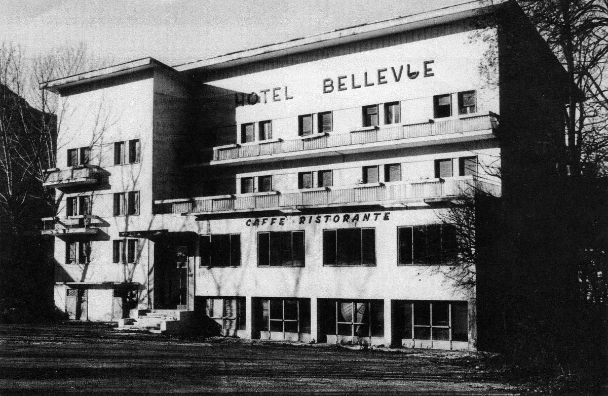 Storia Accademia d'Impresa Trento Trentino Accademia di Commercio e Turismo ex Bellevue